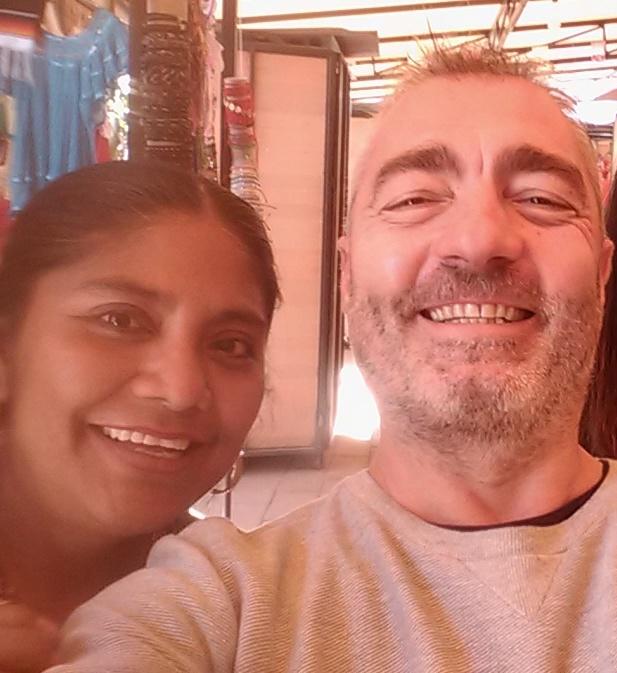 con Gloria, mujer zapoteca, queretaro - copie